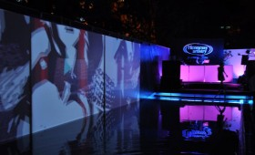 Kinect Installation Hennessy Artistry