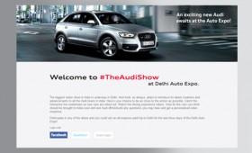 Audi Auto Expo Delhi 2012