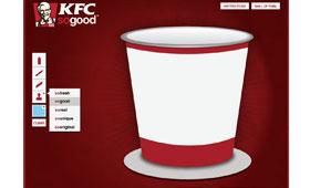 KFC India Design Your Bucket App