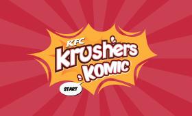 KFC India Krushers Komic Digital Campaign