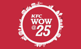 KFC India WOW@25 Digital Campaign